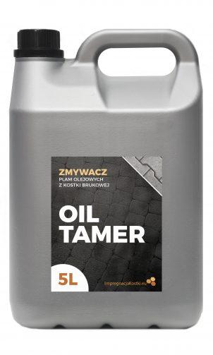 Zmywa plamy z oleju z kostki brukowej. Opakowanie 5l